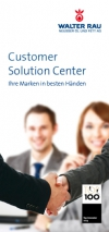 Customer Solution Center